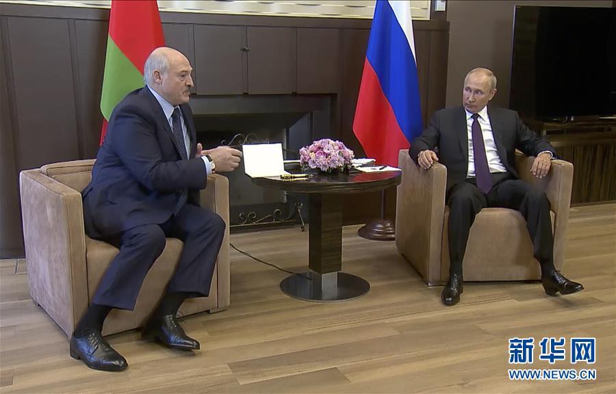 (國際)(2)普京與盧卡申科舉行會晤