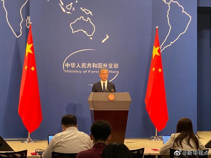 外交部回应美副国务卿访台:坚决反对任何形式的美台官方往来