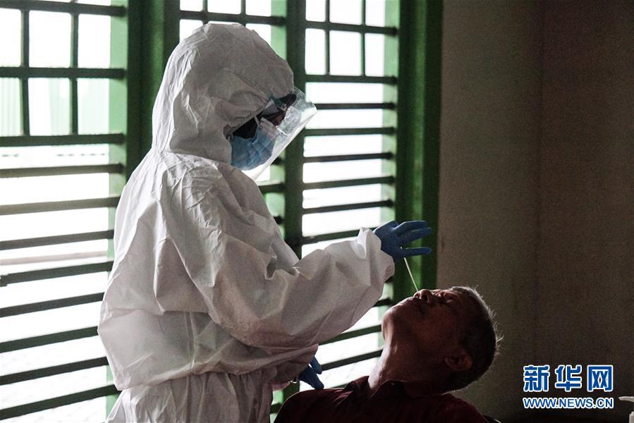 (國際疫情)印尼新冠累計死亡超萬例 單日新增病例再創新高