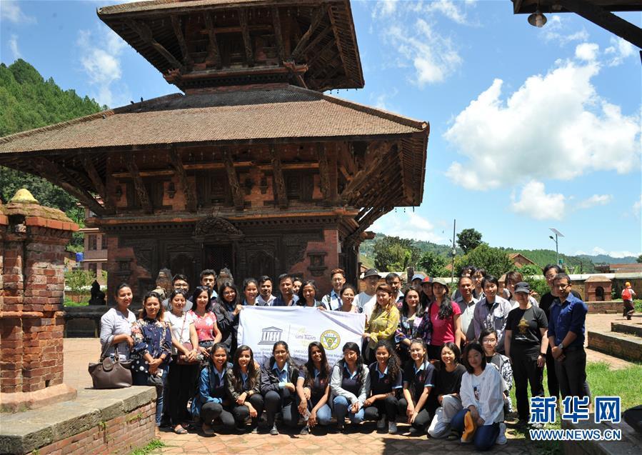 (国际·图文互动)(3)保护亚洲文化遗产 中国高校在行动