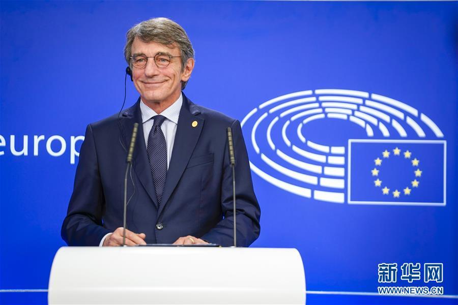 (国际)(2)欧洲议会议长萨索利宣布自我隔离