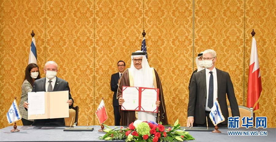 (国际)巴林与以色列正式建立全面外交关系