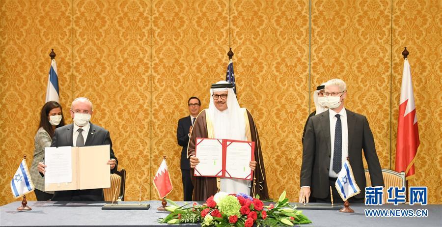 (国际)巴林与以直接朝着轰去色列正式建立全面外交关系