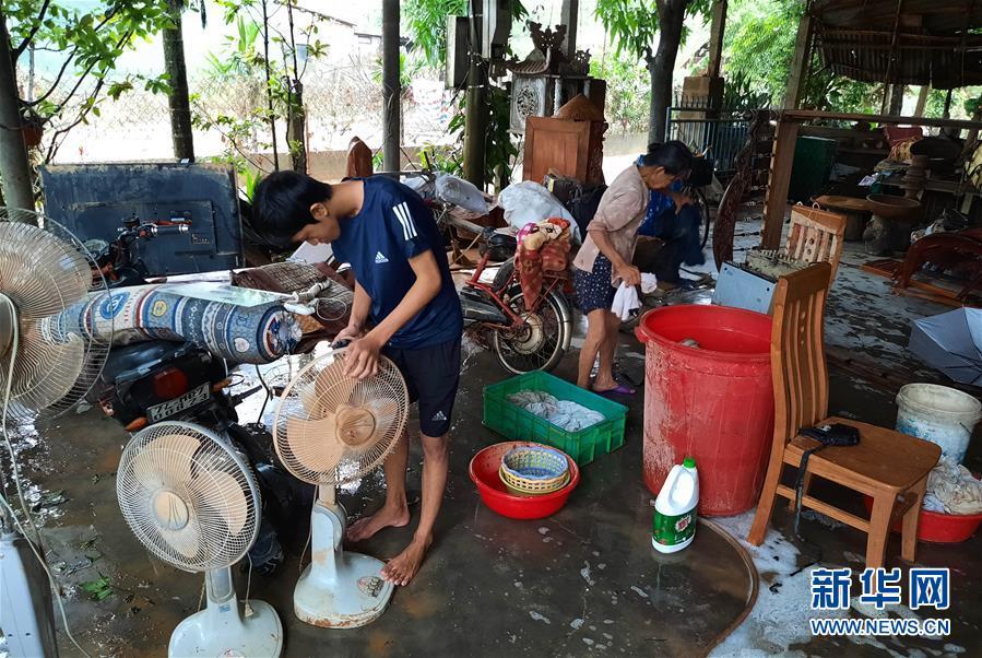 (國際)(3)越南中部等地暴雨災害已致105人死亡