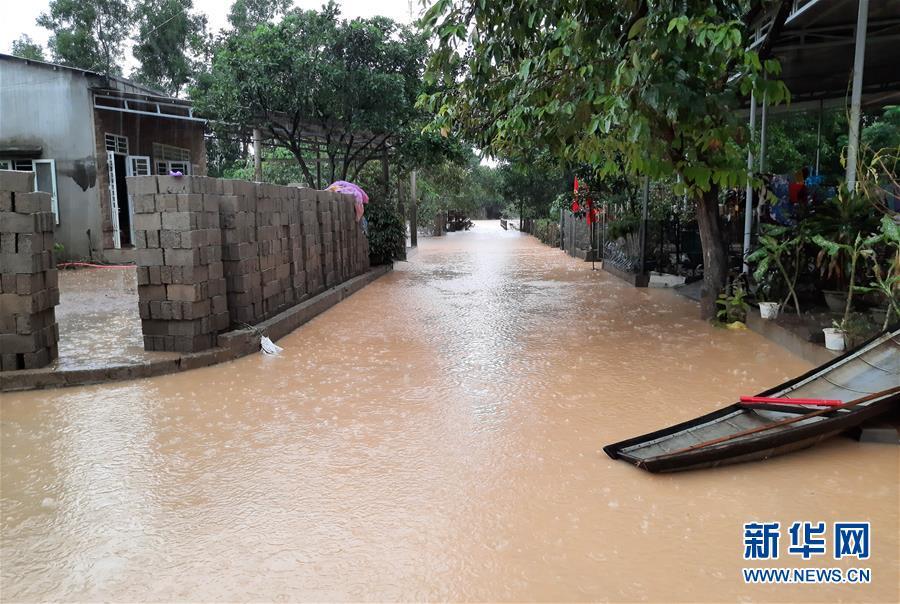 (國際)(5)越南中部等地暴雨災害已致105人死亡
