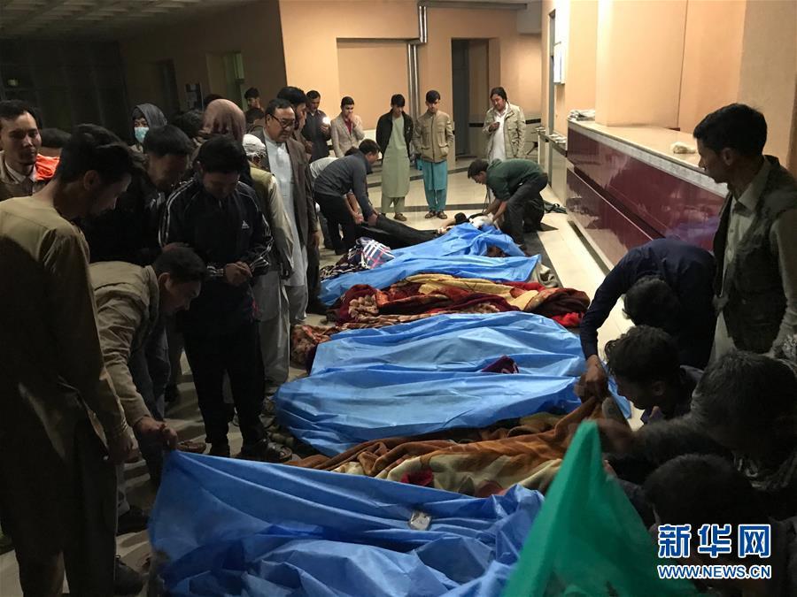 (國際)(1)阿富汗首都發生自殺式炸彈襲擊致11人死亡