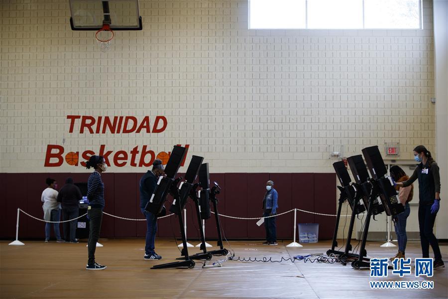 (国际)(1)华盛顿启动2020美国大选提前投票