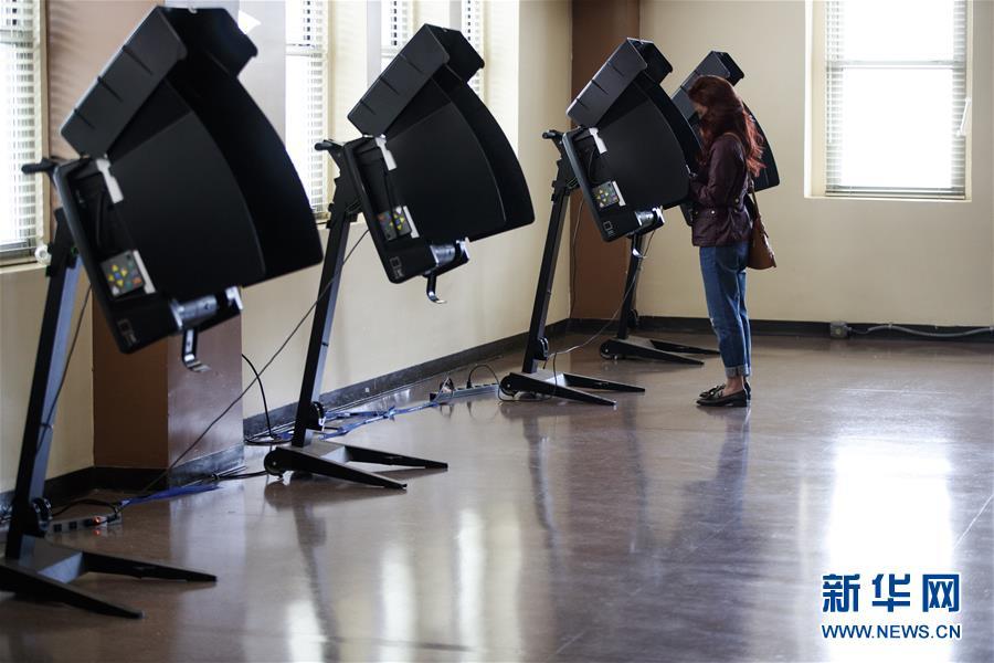 (国际)(8)华盛顿启动2020美国大选提前投票