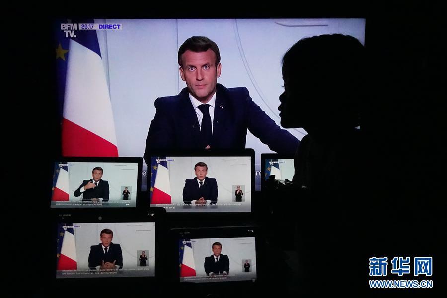 """法国再度全国""""封城""""遏制新冠疫情"""