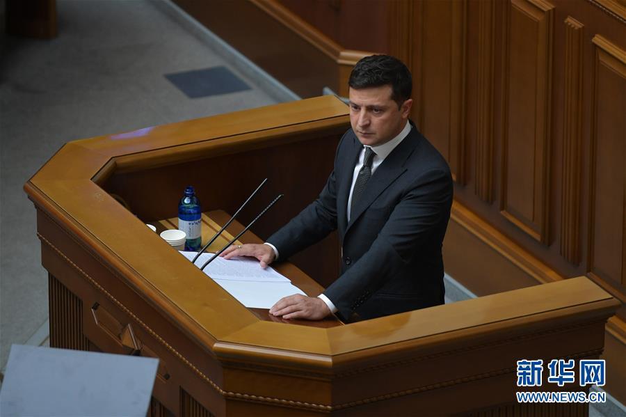 (国际)乌克兰总统泽连斯基新冠病毒检测结果呈阳性