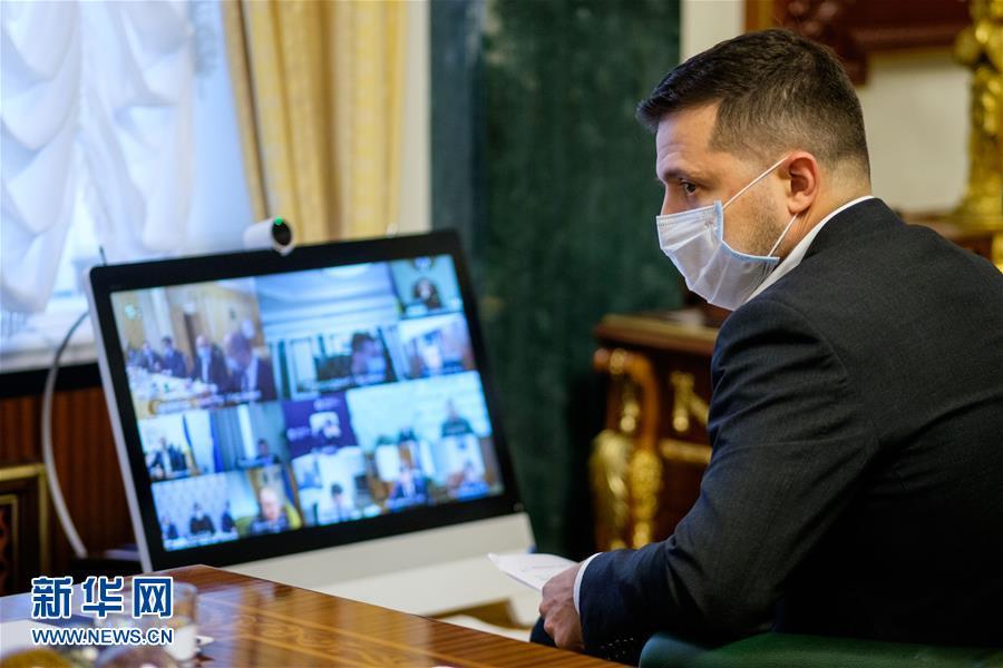 (国际)(2)乌克兰总统泽连斯基新冠病毒检测结果呈阳性