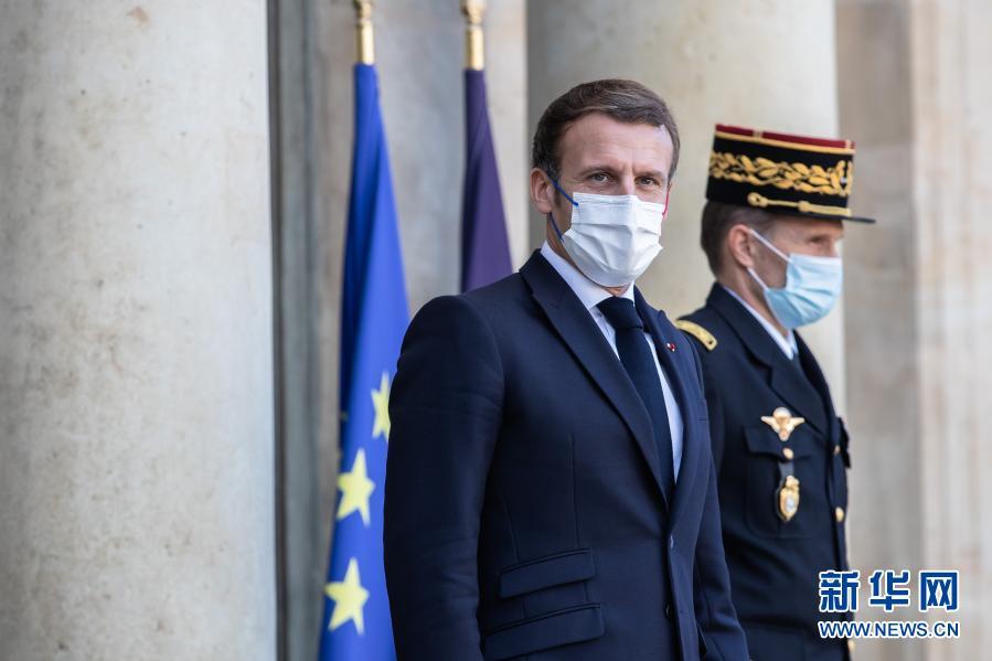 法国总统马克龙确诊感染新冠病毒 部分官员因此已自我隔离