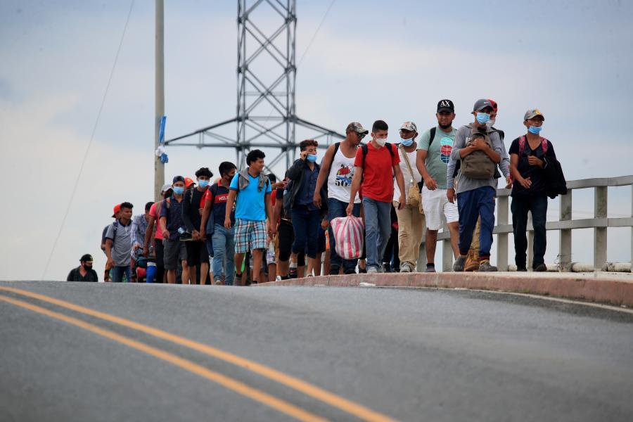 """新冠疫情""""压低""""国际移民增势"""