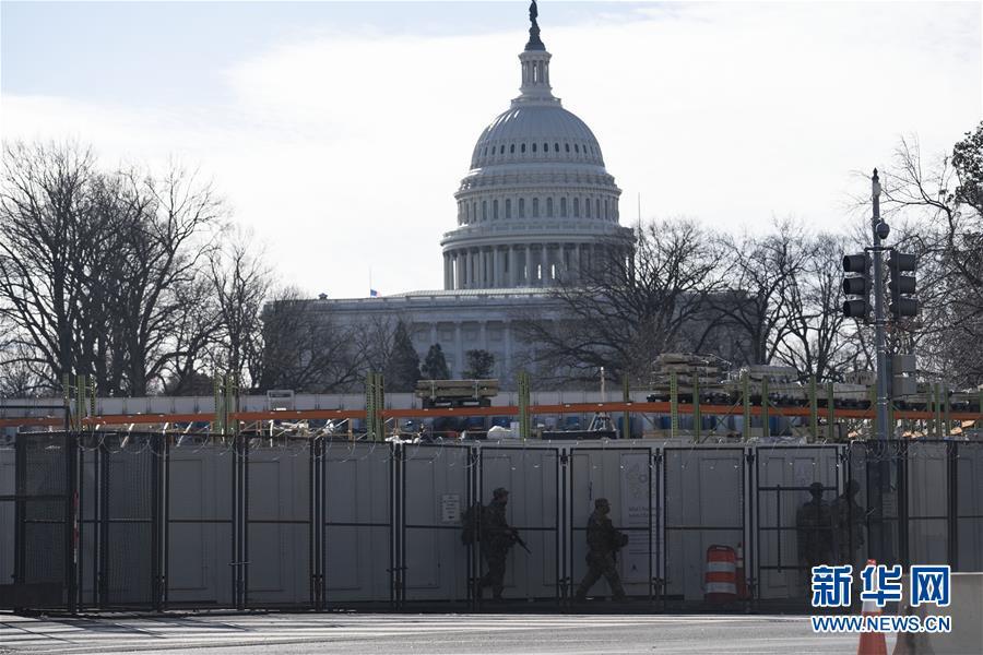 美国国会大厦因附近火灾被临时封锁