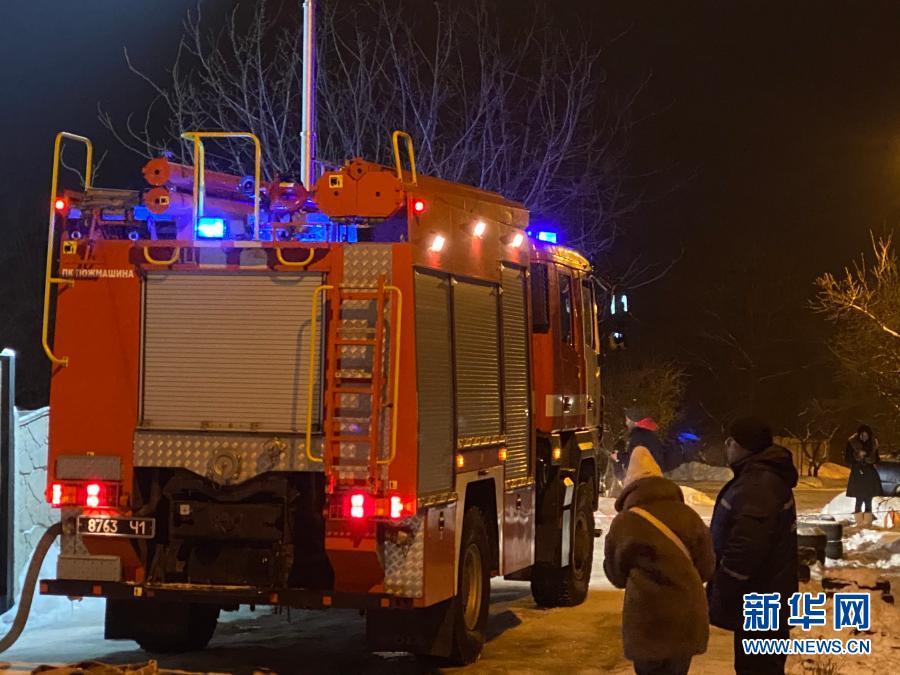 乌克兰东部一养老院发生火灾至少15人死亡