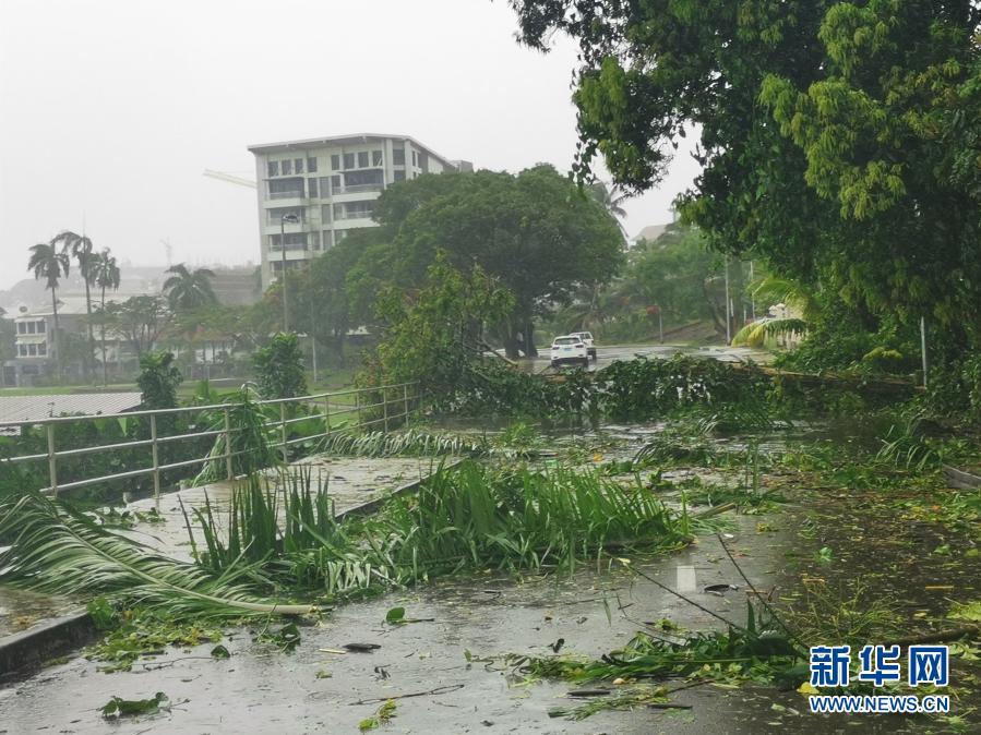 Tropical cyclone Anna ravages Fiji