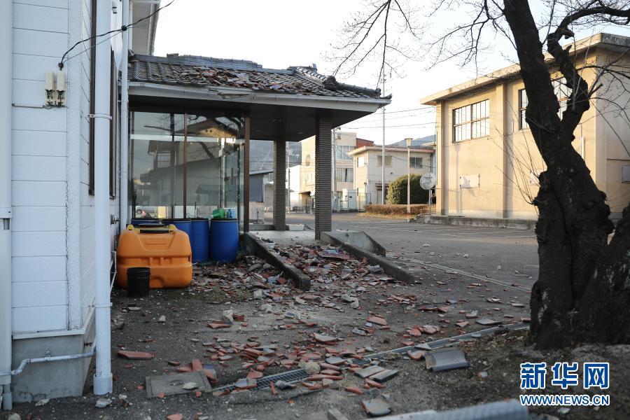数据:日本福岛近海强震已致150人受伤