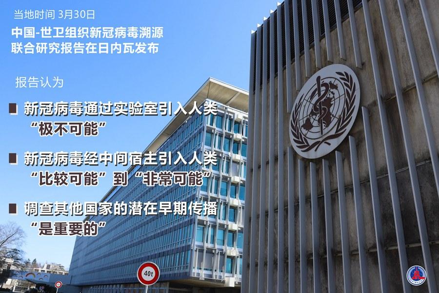 重磅!中国-世卫组织新冠病毒溯源联合研究报告正式发布
