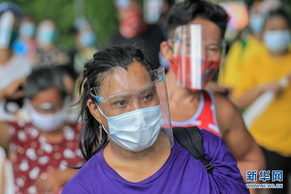 菲律宾累计新冠确诊病例超百万 新增确诊病例8929例