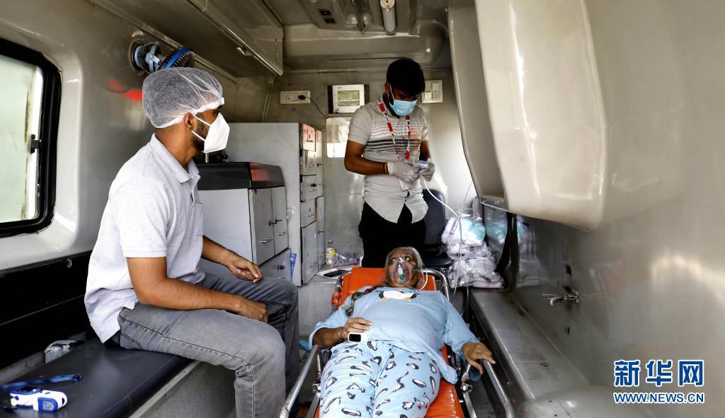 数据:印度连续5天单日新增新冠确诊病例超30万例