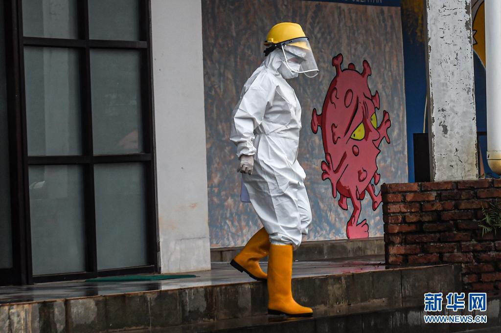 数据:印尼累计新冠确诊病例数超200万 收紧公共活动限制措施