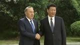 習近平舉行儀式歡迎哈薩克斯坦總統訪華