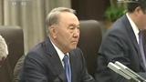 習近平同哈薩克斯坦總統舉行會談