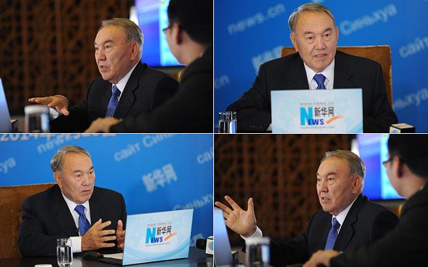 納扎爾巴耶夫總統回答中國網民的問題