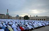烏茲別克斯坦穆斯林迎來開齋節【高清組圖】