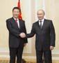 習近平見普京:中俄應相互給力借力