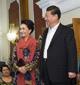 習近平出席塔吉克斯坦總統拉赫蒙家宴