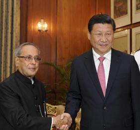 習近平會見印度總統