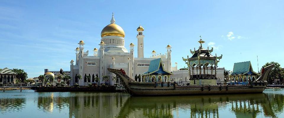 和平的市鎮—文萊首都斯裏巴加灣市