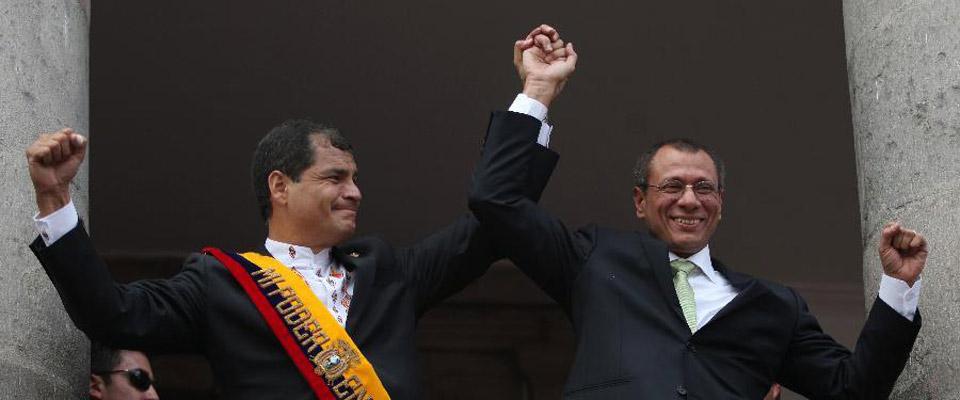 厄瓜多爾總統科雷亞[資料圖]