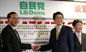 日大選,安倍賭贏了並無懸念的政治遊戲
