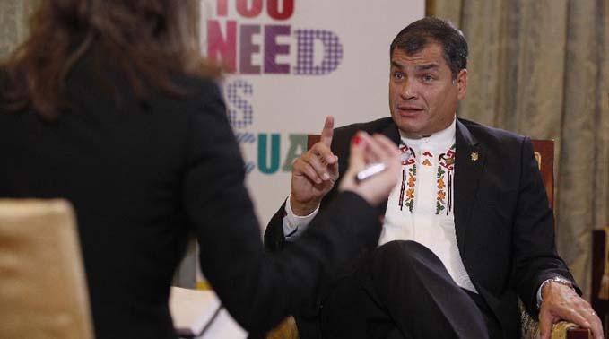 """""""中拉論壇正在創造歷史""""——專訪厄瓜多爾總統"""