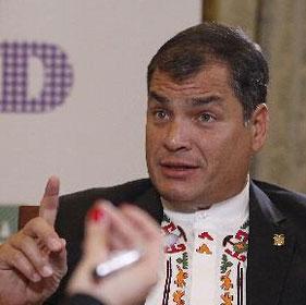 專訪厄瓜多爾總統科雷亞