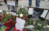 烏克蘭民眾抗議俄前副總理遭槍殺