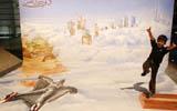 迪拜舉行街頭3D涂鴉藝術展