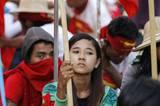 緬甸多地舉行集會要求廢除國家教育法案