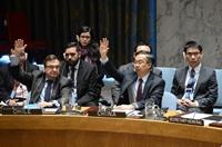 安理會譴責在敘境內使用氯等有毒化學品作為化學武器