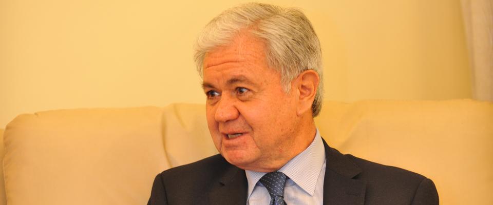 """塔吉克斯坦駐華大使拉希德·阿利莫夫: 建設""""絲綢之路經濟帶""""意味著共同繁榮"""
