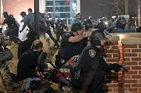 美國弗格森市兩名警察遭槍擊受重傷
