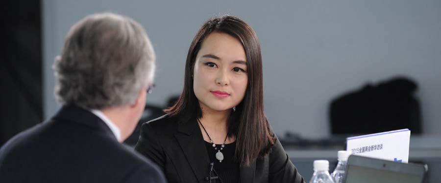 """瑞士駐華大使戴尚賢接受新華網獨家""""兩會""""訪談"""
