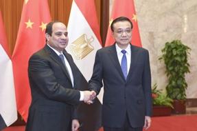 埃及總統塞西:希望提升埃中合作關係