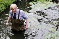 倫敦市長穿襯衫係領帶下水種睡蓮
