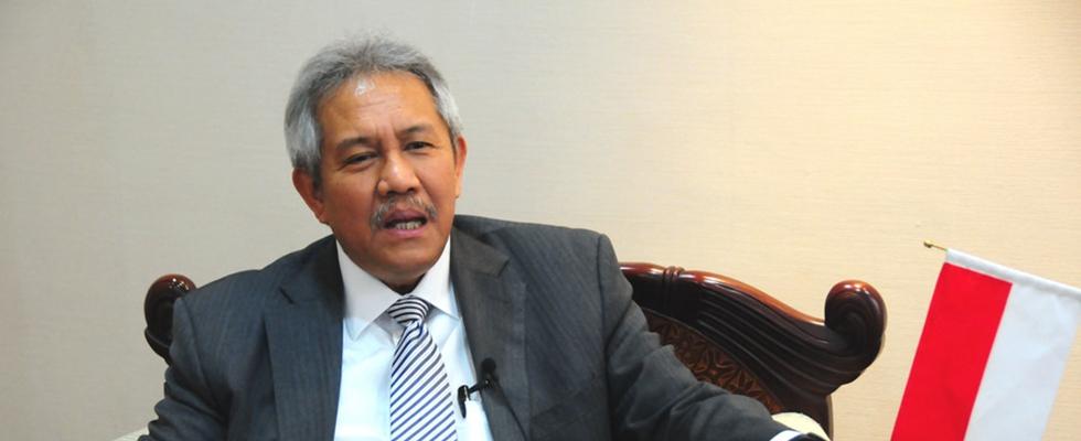 """印尼駐華大使蘇更接受新華網""""兩會""""獨家訪談"""