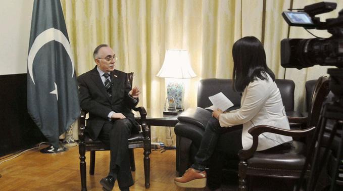 哈立德:我熱愛中國文化,喜歡和中國人一起談天説地