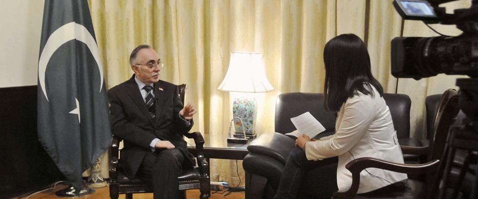 巴基斯坦駐華大使哈立德接受新華網獨家專訪