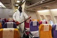 泰國航空公司加強客艙清潔消毒 進行MERS防疫